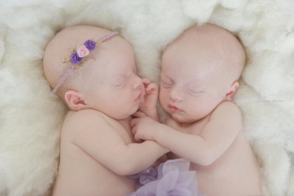 Zwillinge Babyshooting